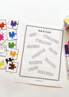Teaching Color Words to Kids