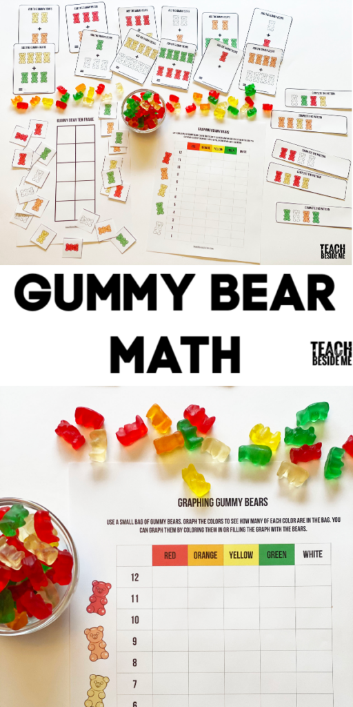 Gummy Bear Math Activities