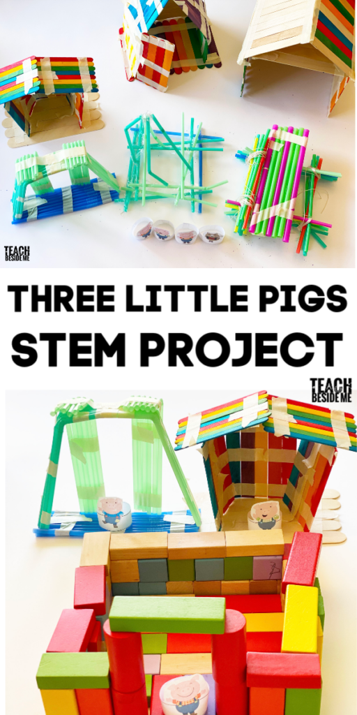 Three Little Pigs STEM project