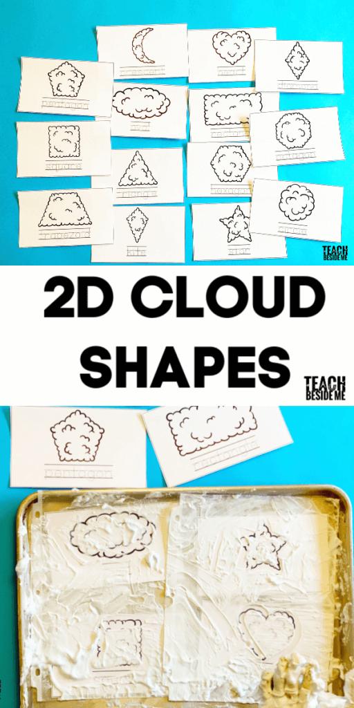 cloud 2d shapes