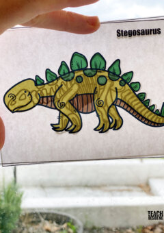 Build a Dinosaur Puzzles & Matching Game