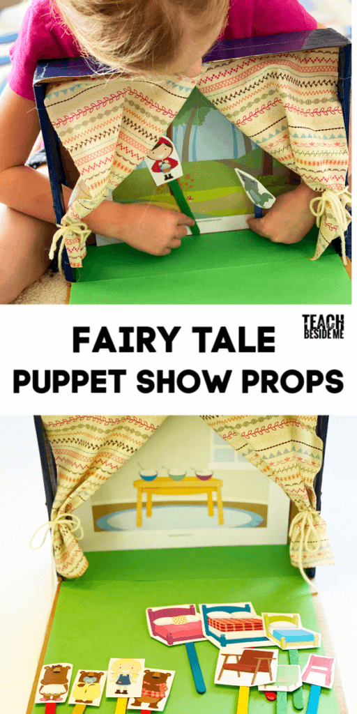 fairy tale puppet show props