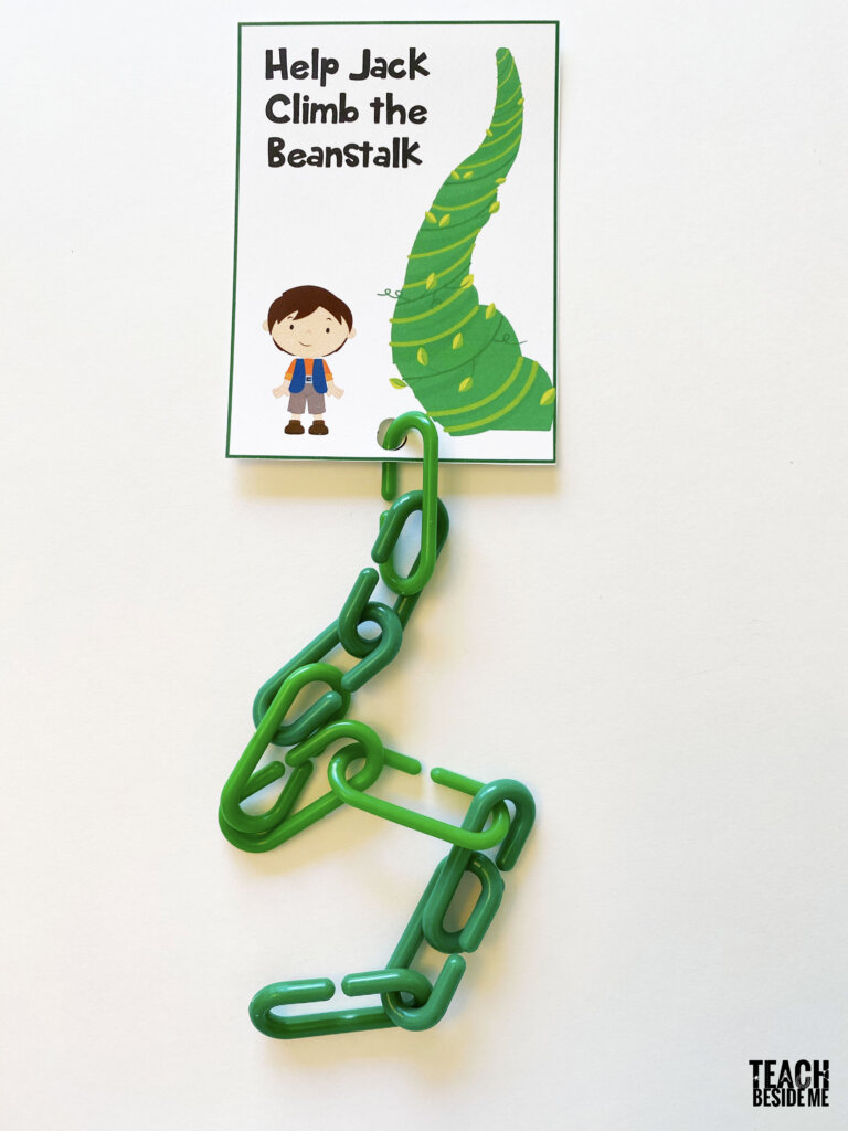 jack and the beanstalk counting
