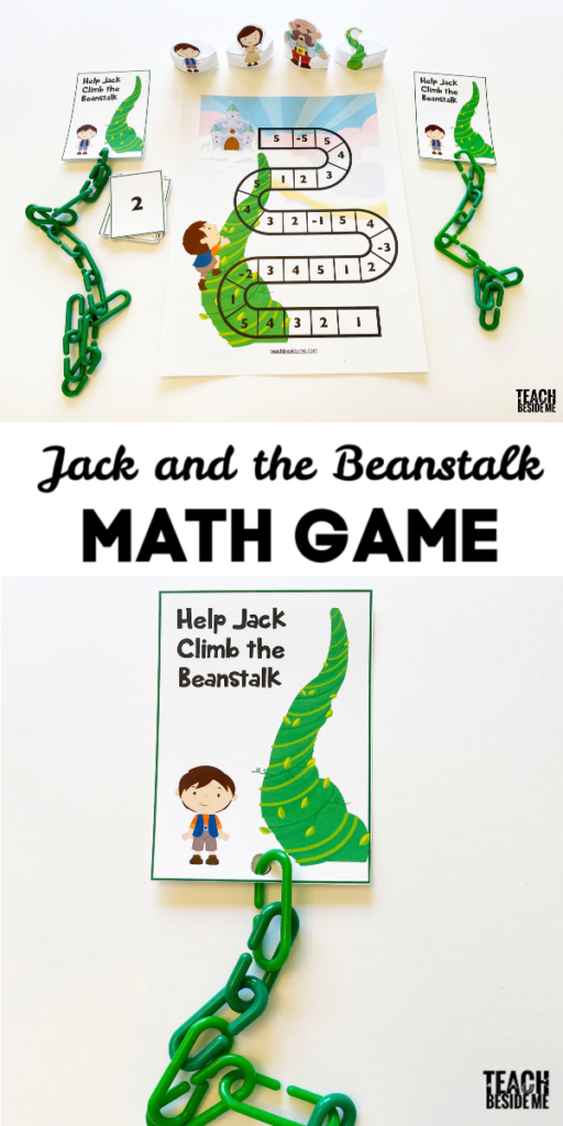 jack and the beanstalk counting math game