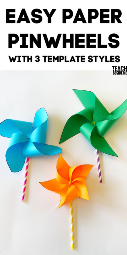 make pinwheels with a template