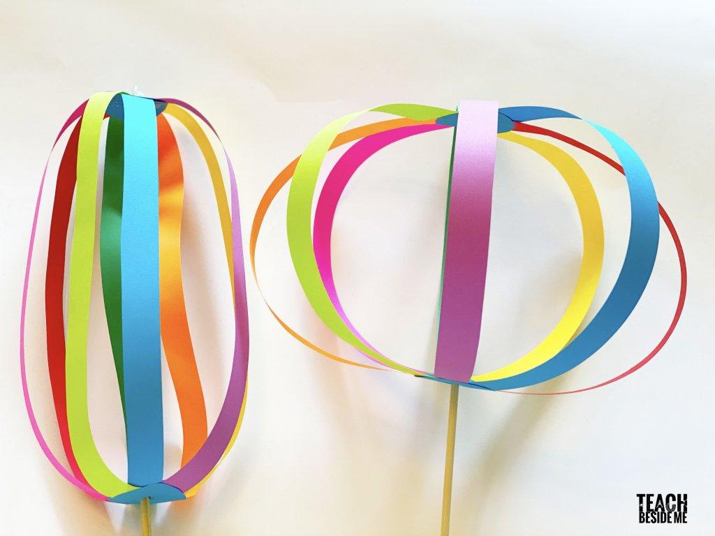 paper spinner toy whirligig