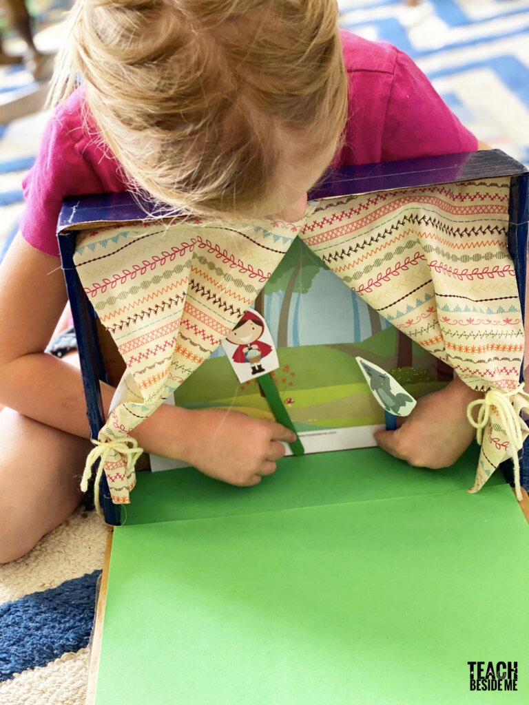 puppet show theater for kids