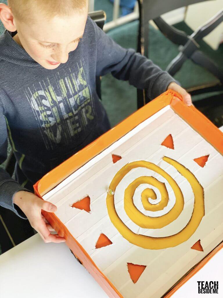 sun marble maze game