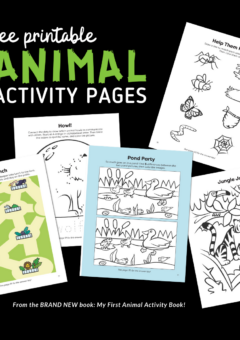Printable Preschool Animal Activity Pack