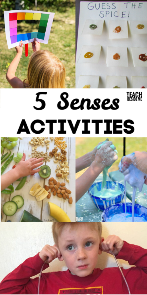5 senses activities for Kids