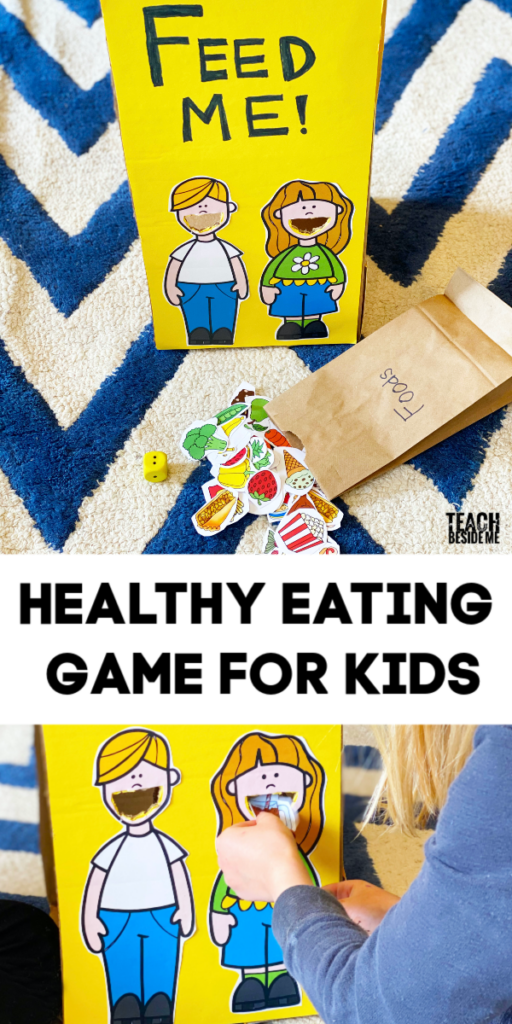 Feed Me- Healthy Kids Nutrition Game