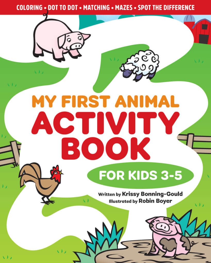 My First Animal Activity Book cover
