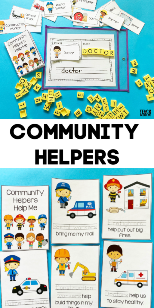 community helpers reading and writing
