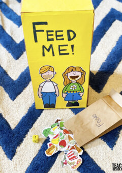 Feed Me: Healthy Kids Nutrition Game