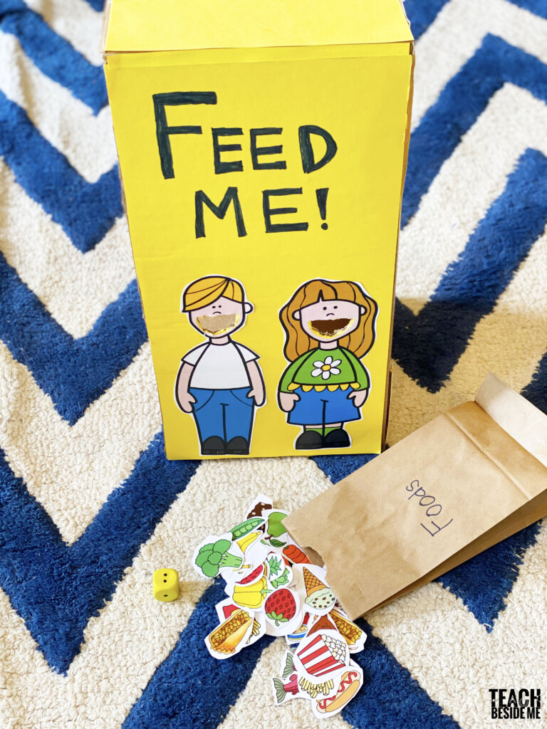 feed me healthy kids game