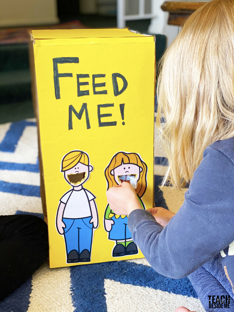 feed me healthy kids math game