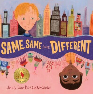 The Same But Different- books about diversity for kids