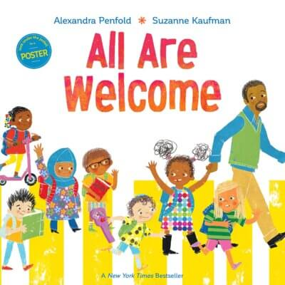 All are welcome- books about race and diversity