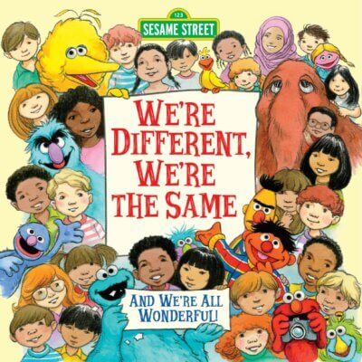 Diversity books- we're different, We're the same