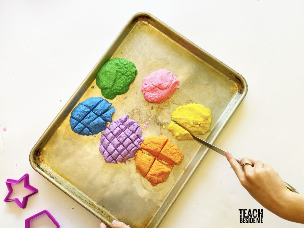 DIY kinetic sand for kids