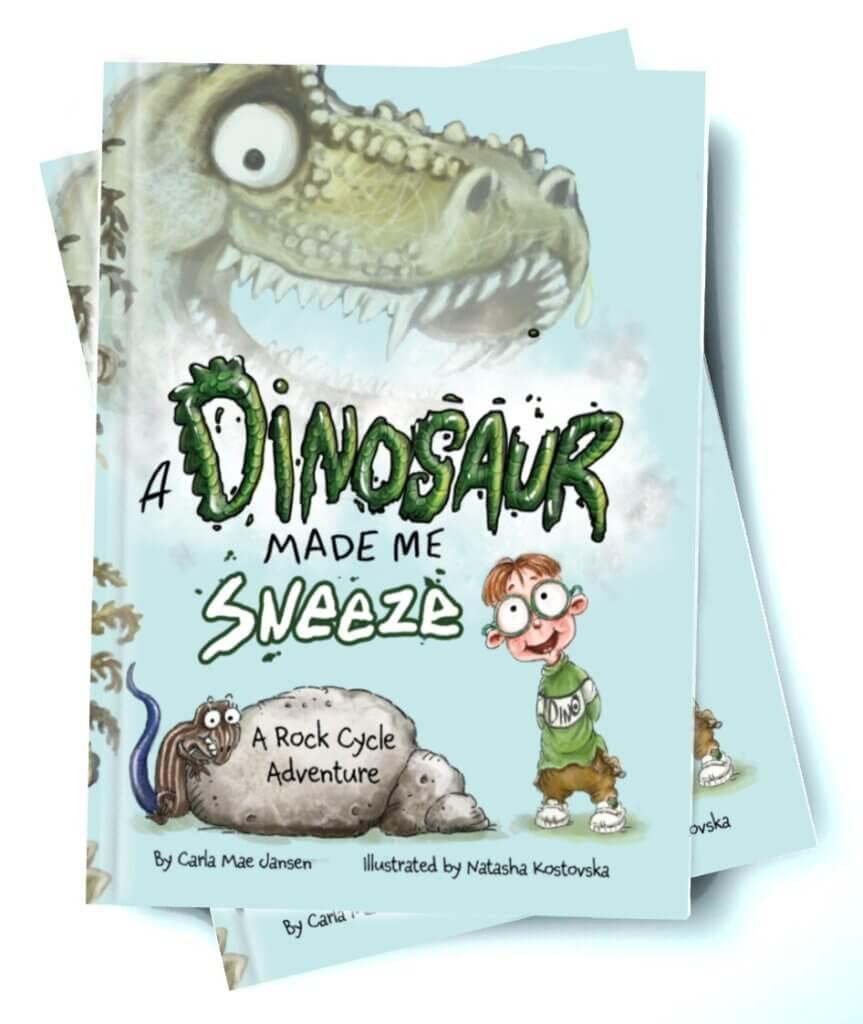 Dinosaur Made Me sneeze book
