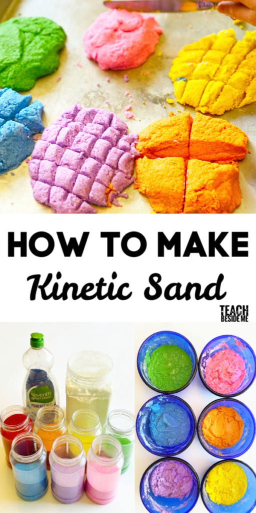 how to make a book kinetic sand