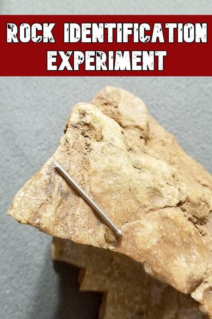 rock identification experiment
