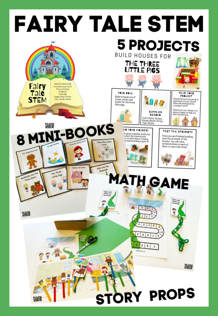 Fairy Tale STEM Bundle