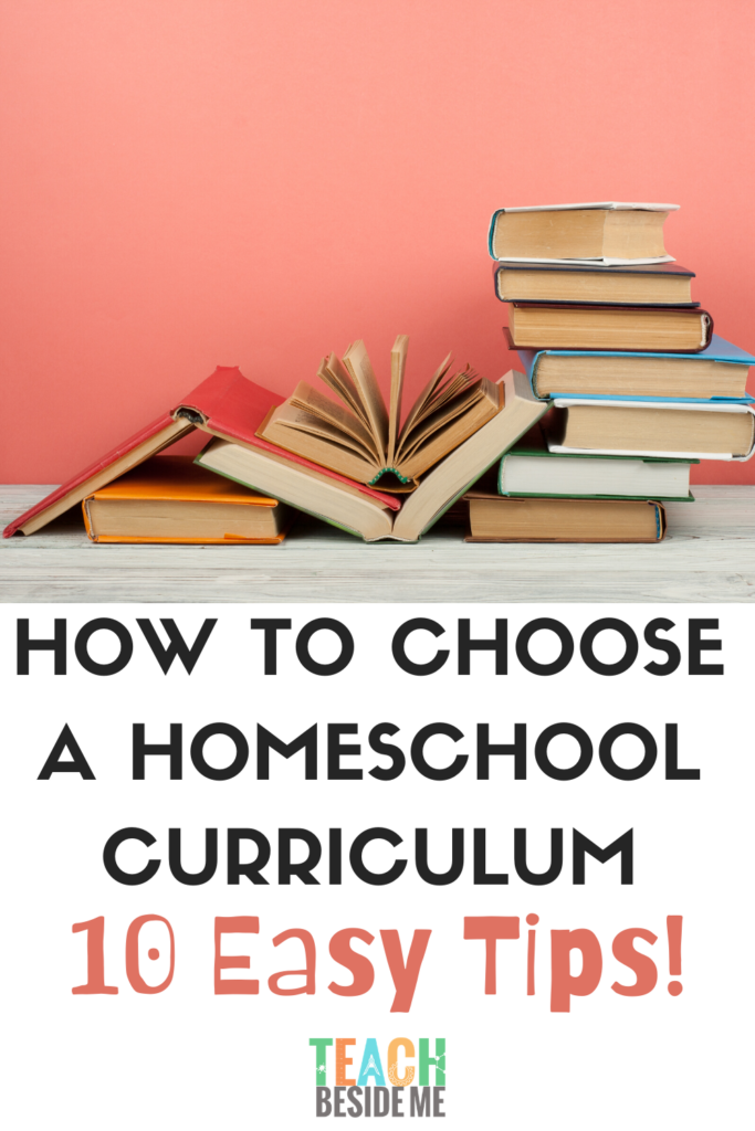 how to choose a homeschool curriculum