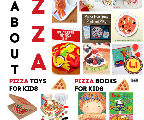 All About Pizza! Pizza Themed Activities for Kids
