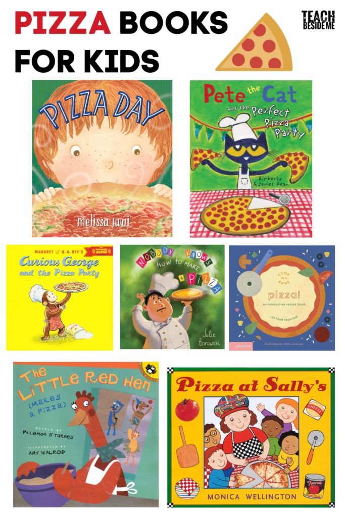 Pizza Books for Kids