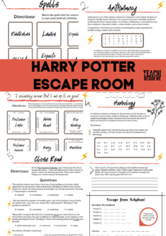 Harry Potter Escape Room for Teaching