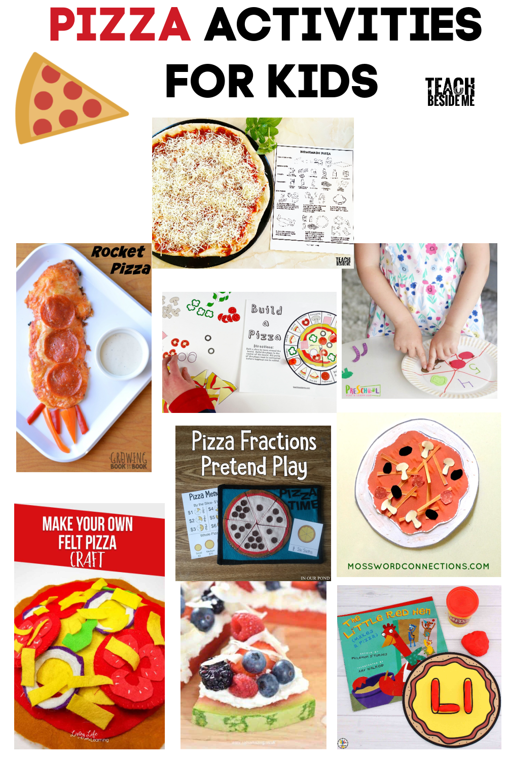 Pizza themed activities for Kids