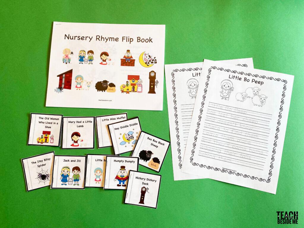 nursery rhyme learning pack