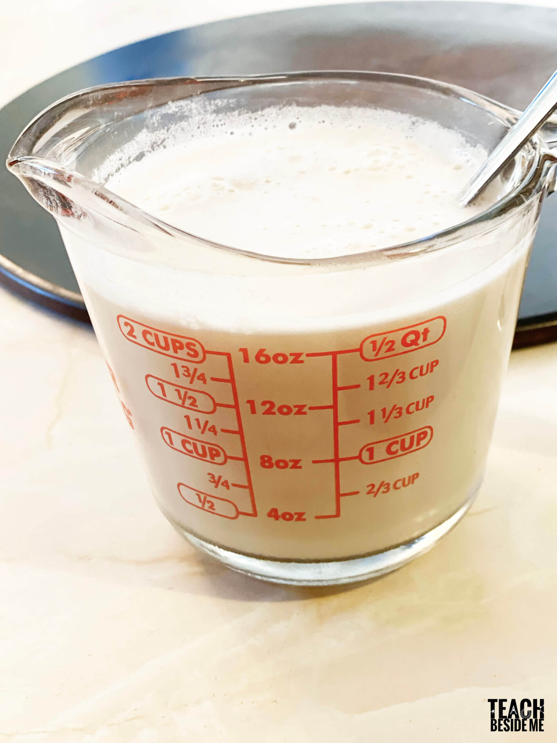 yeast activating- bread dough science