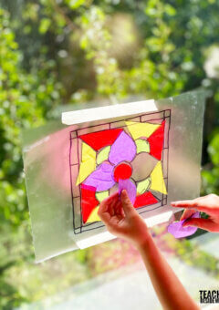 Stained Glass Art Project for Kids