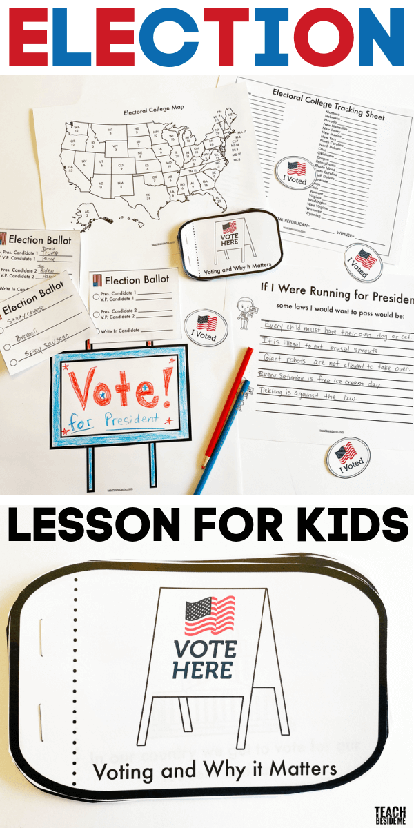 Presidential Election Voting Lesson