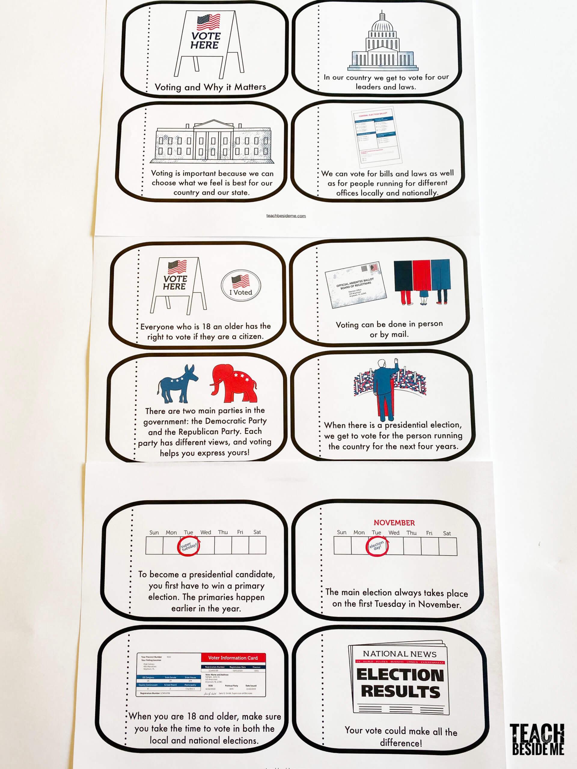 mini election book