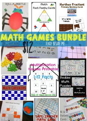 Math Games Bundle- Teach Beside Me