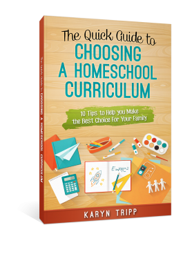 The Quick Guide to Choosing a Homeschool Curriculum 10 Tips for helping you make the best choice for your family